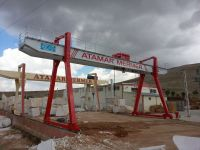 gantry crane from turkey