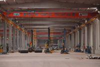 10 ton overhead crane / pont roulant