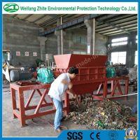 plastic/tire/wood/foam/animal bone/kitchen waste/municipal waste/living garbage/medical waste crusher shredder