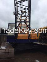 GOOD CONDITION Used KOBELCO 55T 7055 crawler crane for sale