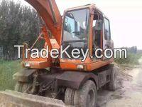 Sell Good Condition Used Doosan 130 wheel Excavator