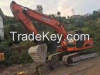 Sell Good Condition Used Doosan DH225-7 Excavator