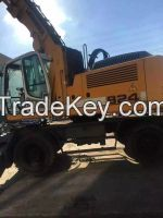 Sell Good Condition Used Liebherr Wheel Excavator 924