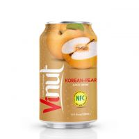 330ml Canned Korean-pear juice drink