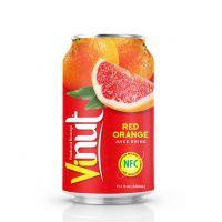 330ml Canned Red Orange juice drink