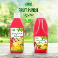 1L Bottle Fruit Punch Drink Nectar