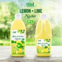 1L Bottle Lime and Lemon Juice Drink Nectar