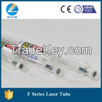80W Co2 laser tube F2 with 1250mm length and 6000h lifespan