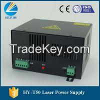 T50 Co2 laser power supply for 50w mini laser engraver