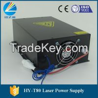 hot selling 80w Co2 laser power supply yueming laser engraver