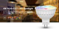 High Quality gu10 Mr16 4w led spotlight with CE RoHS RGBW colors Xchangable