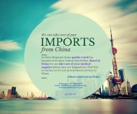 China Sourcing Agent for Medical Supplies