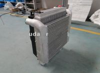 Oil cooler combination with air cooler