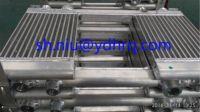 Air cooler for compressor, compressor cooler