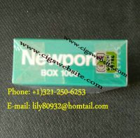 NP Menthol 100s Filtered Cigarettes, New York Stamps