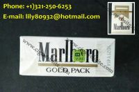Outlet Gold Mar lboro Regular Size Hard Packed Silver MB Light Cigaretes