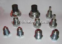 Magnetic steel oil drain plugs, magnetic aluminum drain plug,