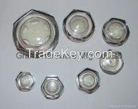 plastic oil sight glass, plastic oil sight gauge, plastic oil level indicator