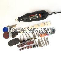 Goldsmith Polishing Motor Dental Motor DREMEL Rotary Motor with 100pcs