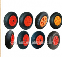 pneumatic rubber wheelbarrow wheels 4.00-8 / tire 400-8