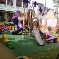 OEM rotomolding outdoor amusement park/ pleasure ground/ kids playing park