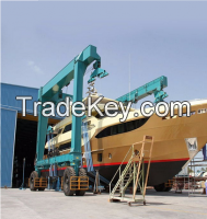 Nucleon Hot Sale 50t, 100t, 200t, 300t, 600t, 800t Crane Travel Lift, Boat H