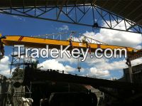 Hot sale 10 ton single girder overhead crane with electric hoist