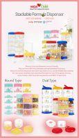Korean Baby Formula Case ( PP and Tritan )