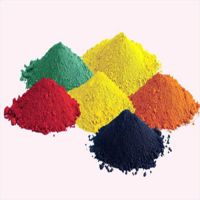 Hot inorganic Iron Oxide pigment