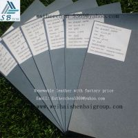 Free sample renewable leather for bad and belt