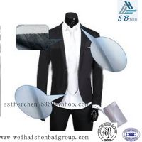 Reinforcement 100% polyester nonwoven fabric for clothes