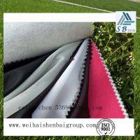 Colorful polyester strech yarn fabric for garment interlining