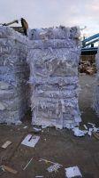Hard white shavings WASTE PAPER