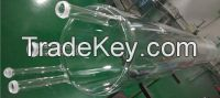clear quartz glass furnace tube with ball joint