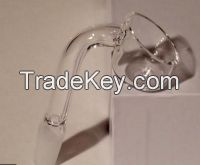 quartz banger nail domeless in 2mm or 4mm thickness female or male