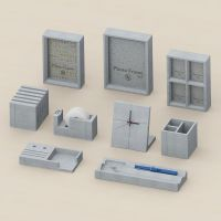 Cement Stationery Set