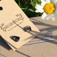 Handmade shungite earrings from Russia wholesale