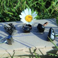 Shungite healing rings from Russia wholesale