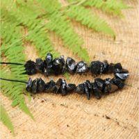 Elite shungite beads 10 pcs