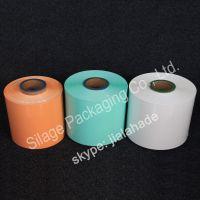 orange color, high water proof shrink film, UV resistance silage wrap film, farm packing plastic film for Ireland
