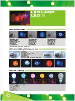 LED Lamp and bulb