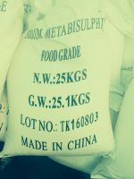 High Quality sodium metabisulphite