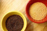 Yellow Mustard, Brown Mustard seeds