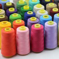 100% Spun Polyester Sewing Thread/Ring-Spun Polyester Yarn Fine/Twisted and Spun Polyester Yarn/Ring-Spun Viscose Yarn Fine