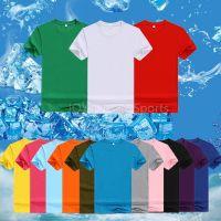 180g Pure Cotton Round-neck Short-sleeve T-shirts