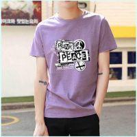 Men's O-neck Short Sleeve T-shirts Stocking Wholesale