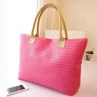 Lady's handbag PU leather bags Shopping bags