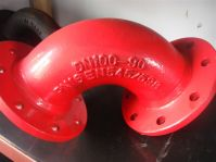 Sell Ductile Iron Pipe Fittings-Double Flanged Bend
