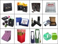 customized paper bag with Factory sale price