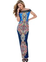 Sexy Printed Women Long Dress
